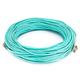 10Gb Fiber Optic Cable, LC/LC, Multi Mode, Duplex - 40 Meter (50/125 Type) - Aqua