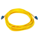 Fiber Optic Cable, LC/LC, Single Mode, Duplex - 10 meter (9/125 Type) - Yellow