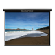 120-inch, 16:9 Matte Gray Fabric Motorized Projection Screen