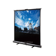 100-inch, 4:3 White Fabric Portable Pull-Up Projection Screen