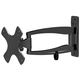 Stable Series Medium Full Motion Wall Mount for Small Displays Max 33 lbs UL Certified