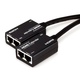HDMI Extender Using Cat5e or CAT6 Cable, Extend Up to 98ft