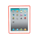 Premium TPU Case for iPad 2, iPad 3, iPad 4 - Red