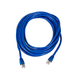Cat6A 26AWG STP Ethernet Network Patch Cable, 10G, 20ft Blue