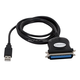 Monoprice USB to Parallel(CN36 Male / IEEE1284) Converter Cable - 6ft