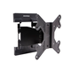 Monoprice Ultra-Slim Full-Motion Articulating TV Wall Mount Bracket For TVs 23in to 42in, Max Weight 66lbs, VESA Patterns Up to 200x200, Works with Concrete & Brick