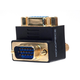 Monoprice VGA Coupler (Female to Male) - 90 Degree (Gold Plated)