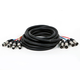 Monoprice 20ft 4-Channel XLR Male to XLR Female Snake Cable