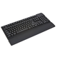 Mechanical Gaming Keyboard w/2 Port USB Hub and Headset/Mic Jacks- Cherry MX Black