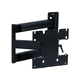 Monoprice Titan Series Tilt TV Wall Mount Bracket - For TVs 23in to 42in, Max Weight 80lbs, Extension Range of 3.0in to 24.0in, VESA Patterns Up to 200x200, No Logo