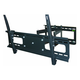 Stable Series Full Motion Wall Mount for Large 37 - 70 inch TVs Max 132 lbs - No Logo