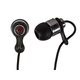 Monoprice Hi-Fi Premium Noise Isolating Earbuds Headphones - Black & Red
