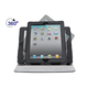 360° Swivel Stand and Cover for all 9.7-inch iPad - Black with Gray