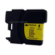 Monoprice compatible Brother LC61/65Y inkjet- yellow (High Yield)
