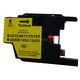 Monoprice compatible Brother LC75Y inkjet- yellow (High Yield)