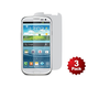 Screen Protector (3-Pack) w/ Cleaning Cloth for Samsung Galaxy S III - Transparent Finish