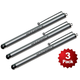 "4.5"" Aluminum Stylus (3-Pack) for all iPad, iPhone, iPod, Tablets, and SmartPhones - Silver"