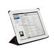 Synthetic Leather Stand/Cover with Magnetic Latch for iPad 2, iPad 3, iPad 4 - Black