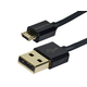 Monoprice Premium USB-A to Micro B 2.0 Cable - 5-Pin, 23/32AWG, Black, 6ft