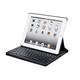 Keyboard Folio w/ Mechanical Keys for iPad 2, iPad 3, iPad 4 - Black with Black Keys