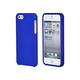 Polycarbonate Soft Touch Case for iPhone 5/5s/SE - Metallic Blue