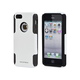 Dual Guard PC+Silicone Case for iPhone 5/5s/SE - White