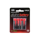 Monoprice AA Alkaline Battery, 4-Pack