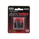 Monoprice AAA Alkaline Battery, 8-Pack