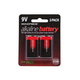 Monoprice 9V Alkaline Battery, 2-Pack