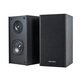 Premium 4-inch 2-Way Bookshelf Speakers (Pair) - Black