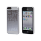 Neutra PC Soft Touch+Steel Case for iPhone 5/5s/SE - Silver