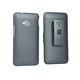 Slide Out Case with Belt Clip/ Stand for HTC One - Silver