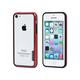 PC+TPU Edge Bumper for iPhone 5c - Red
