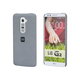 PC Case with Soft Sand Finish for LG G2 - Granite Gray