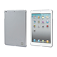 PC Soft Touch Cover for iPad Air, Silver
