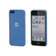 PC Case with Soft Sand Finish for iPhone 5/5s/SE -  Azurite Blue