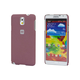 PC Case with Soft Sand Finish for Galaxy Note 3 -  Brick Red