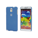 PC Case with Soft Sand Finish for Galaxy Note 3- Azurite Blue