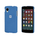 PC Case with Soft Sand Finish for LG Nexus 5 - Azurite Blue