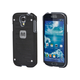 Industrial Metal Mesh Guard Case for Samsung Galaxy S4 - Black