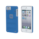 Industrial Metal Mesh Guard Case for iPhone 5/5s/SE - Blue