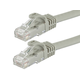 FLEXboot Series Cat5e 24AWG UTP Ethernet Network Patch Cable, 100ft Gray
