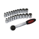 "21-piece 1/2"" Drive Socket Wrench Set"