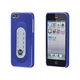Brushed Aluminum Case w/ Snap-Stand for iPhone 5/5s/SE - Blue