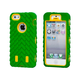 TreadTough Dual Guard PC+Silicone Case for iPhone 5/5s/SE - Green
