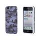 Textile Silicone Case for iPhone 5/5s/SE - Grey Camo