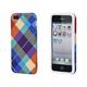 Textile Silicone Case for iPhone 5/5s/SE - Pretty Plaid