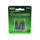 Monoprice Ni-MH Rechargeable AAA Batteries (800mAh) - 4 Pack
