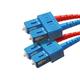 Fiber Optic Cable, SC/SC, Single Mode, Duplex - 3 meter (9/125 Type) - Yellow
