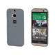 PC Case with Soft Sand Finish for HTC One (M8) -  Granite Grey